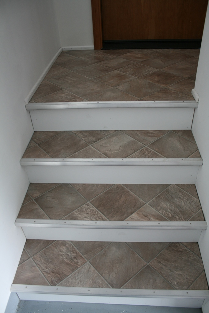 Somes Home Garage Stairs