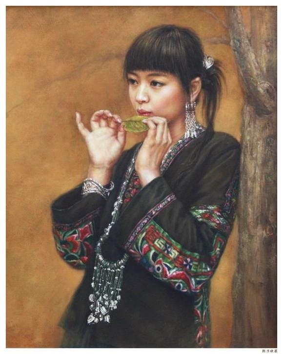 Lukisan Realisme Xu Fang Artwork