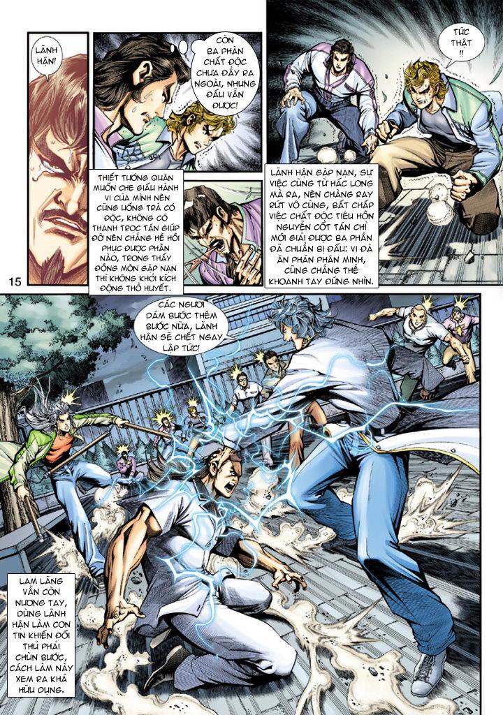 Tân Tác Long Hổ Môn chap 193 - Trang 15
