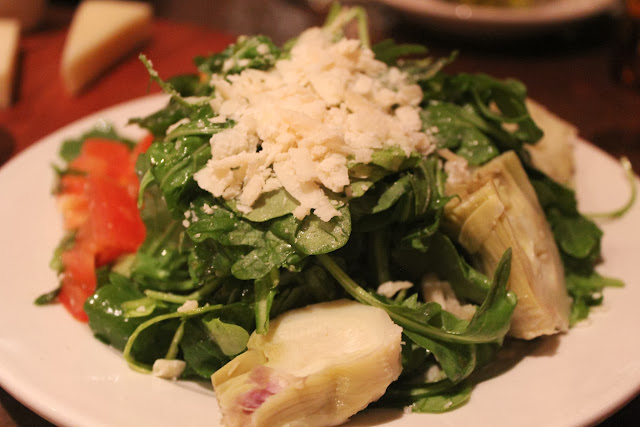 Arugula salad at Piattini Wine Cafe