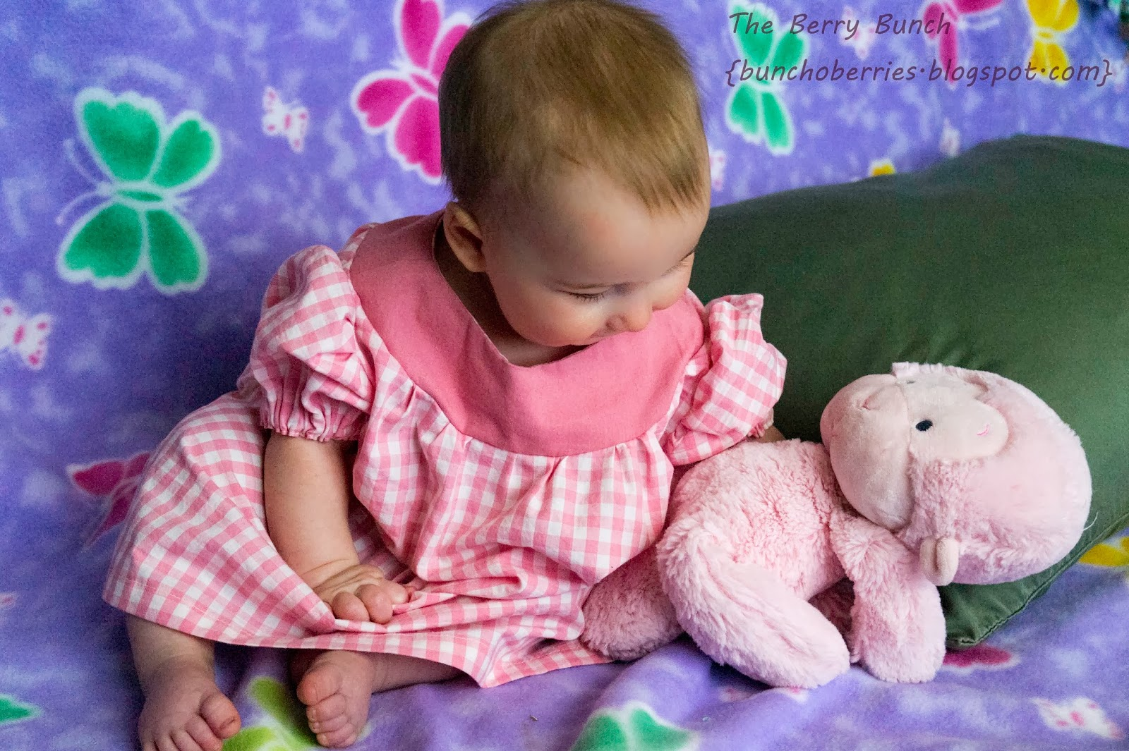 The Berry Bunch: Get Your Crap Together: Shortie Nightgown Pattern Test {GYCT Patterns}