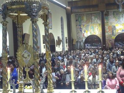 IAM e JM participam da Missa de Corpus Christi na Diocese de São Miguel Paulista/SP