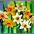 Gubahan Bunga Hiasan Bekas Telur - Kitar Semula