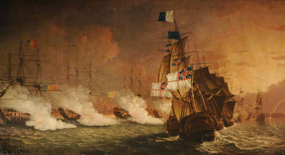 battle of the nile french revolution
