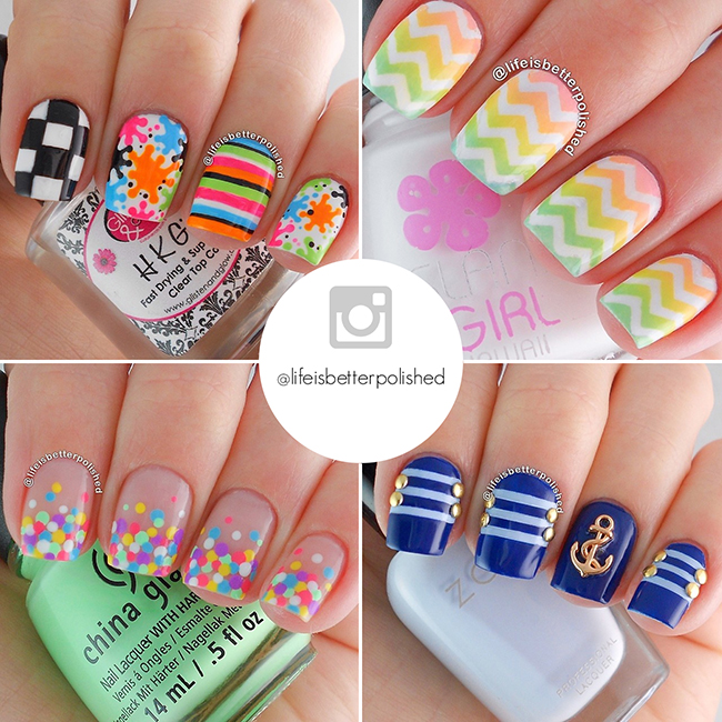 Instagram nail art accounts you need to follow 2 the best nail art accounts on instagram the nailasaurus uk nail art blog prinsesfo Gallery