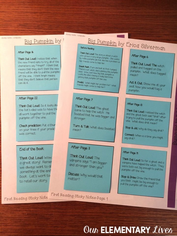 how to print on sticky notes in 3 easy steps our elementary lives
