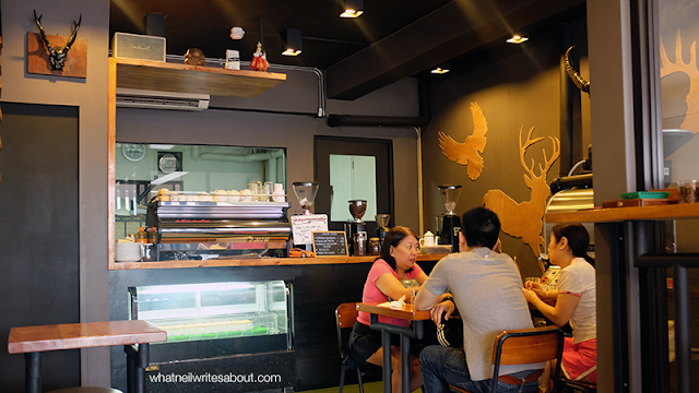Neil Writes About Department of Coffee Ambiance