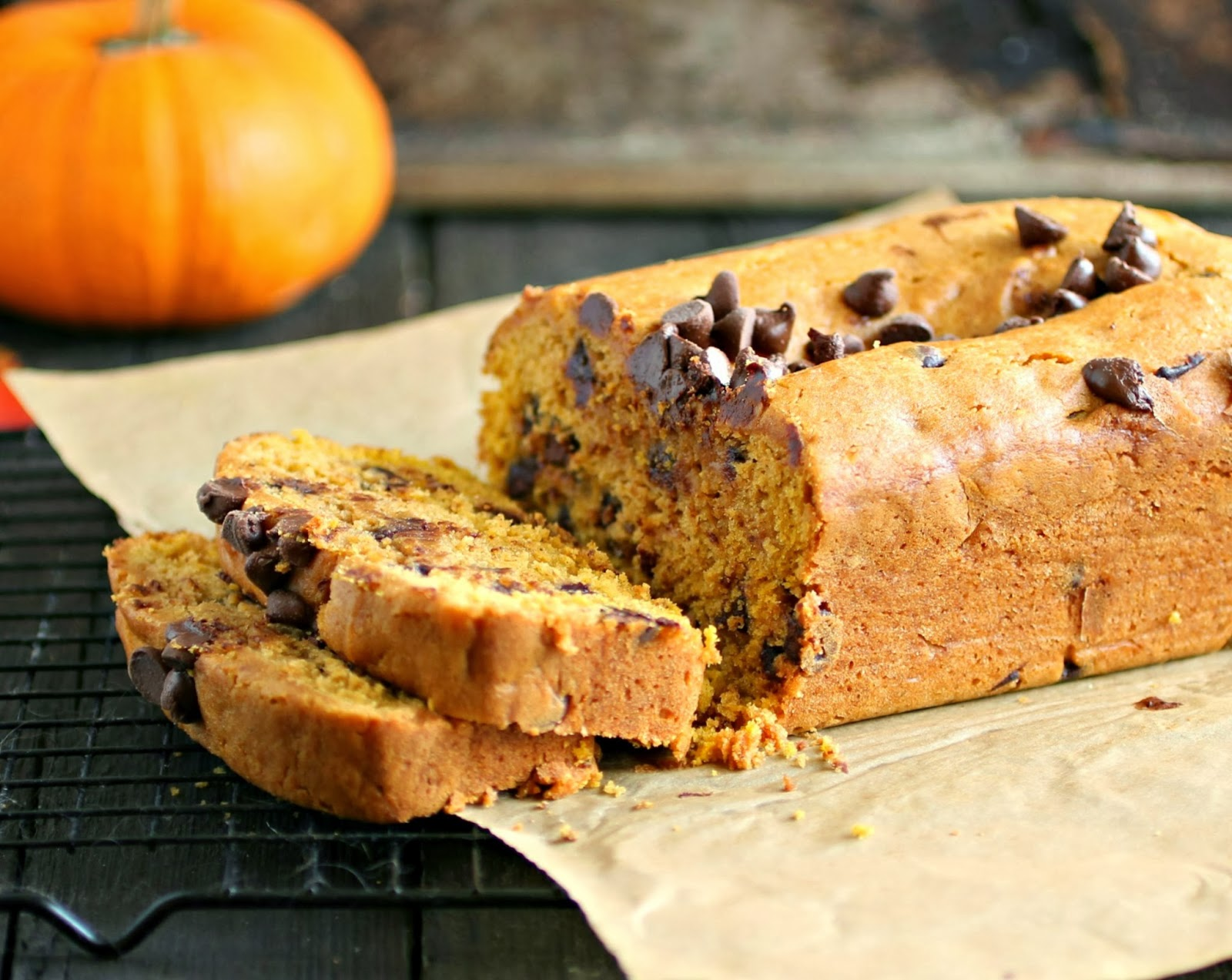 Hungry Couple: Pumpkin Chocolate Chip Bread