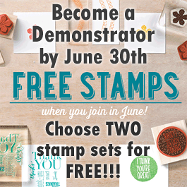 Get TWO FREE STAMP SETS!