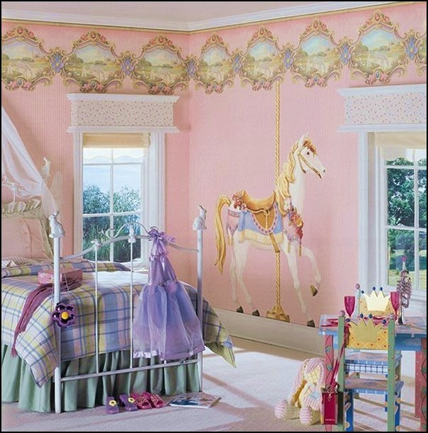 Decorating theme bedrooms maries manor carousel theme bedroom ideas carousel merry go round - Show pics of decorative bedrooms ...