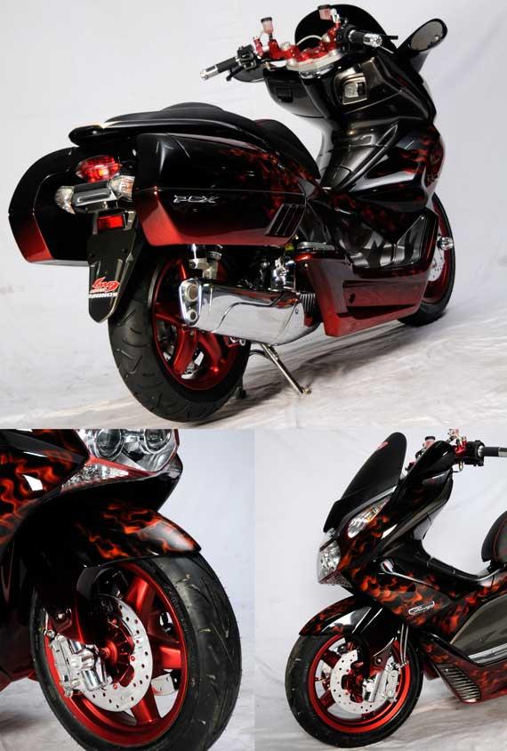 Full Modif honda PCX FOKUS Mengolah detail title=