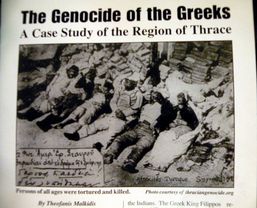 Turkish Genocide against Greeks