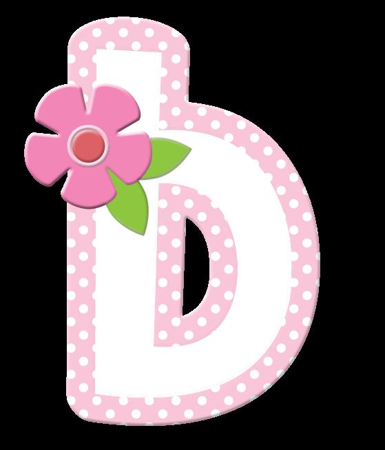 Sgblogosfera mar a jos arg eso de lunares y flores rosas - Letras grandes decoradas ...