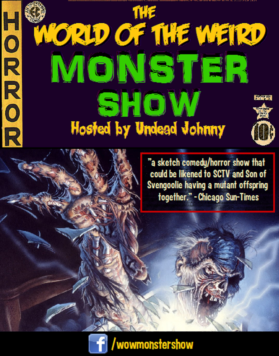 Visit World of the Weird Monster Show on Facebook