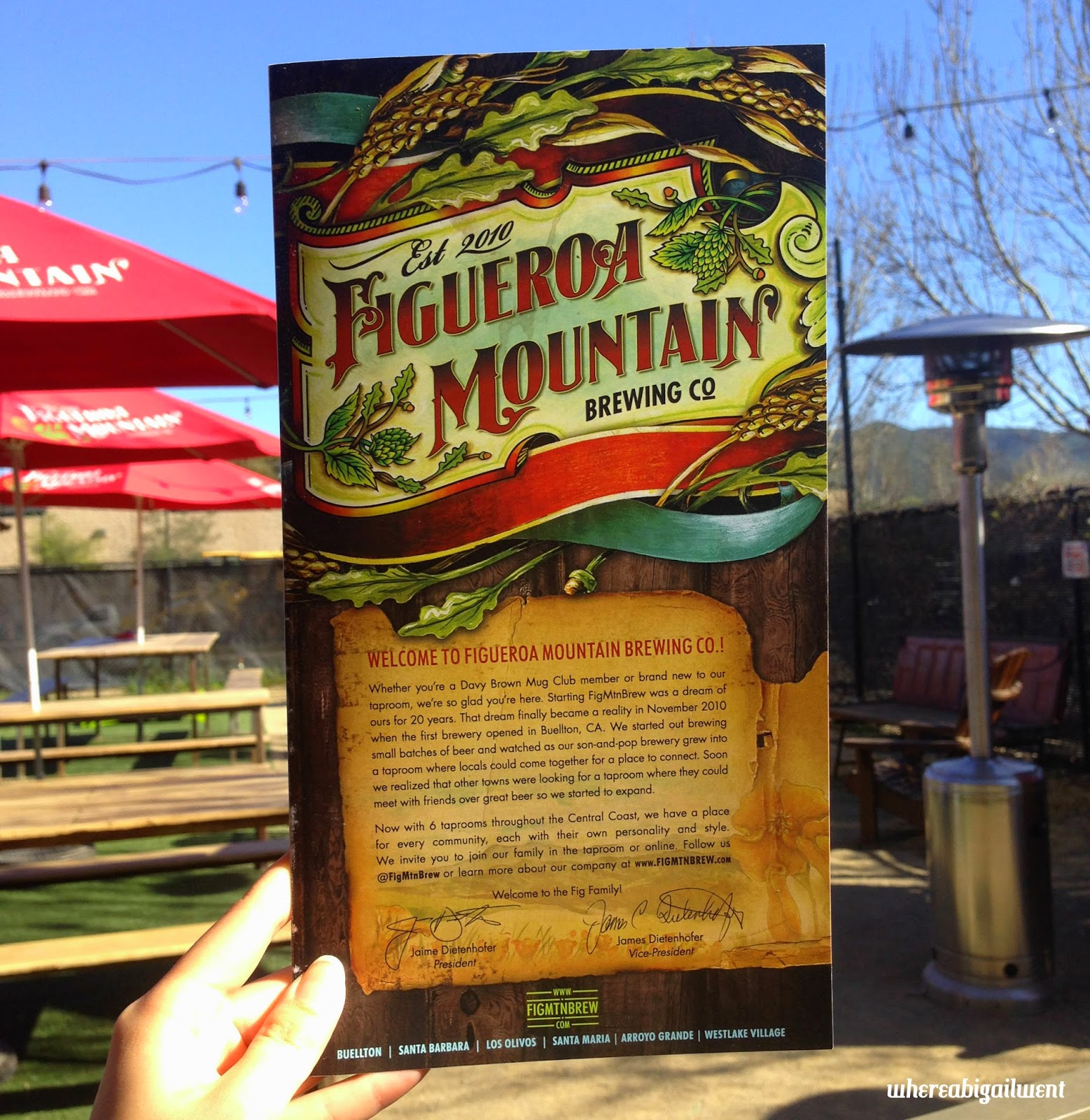 Figueroa Mountain Brewing Co. Outdoor Seating