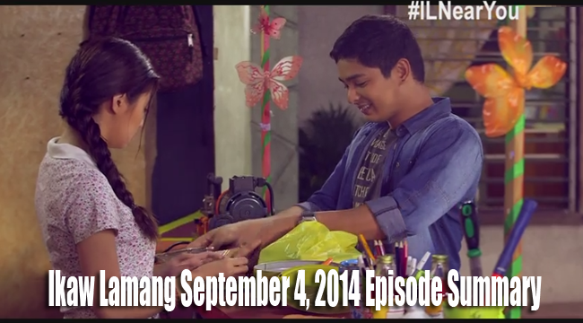 Teleserye Ikaw Lamang September 4, 2014 Episode Summary: Knowing the Real Character