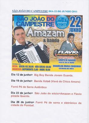 SÃO JOAO DO CAMPESTRE CLUBE DE CAJAZEIRAS PB
