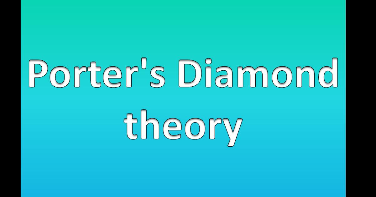 porter s diamond criticism Porter's diamond model four attributes of a nation comprise porter's diamond of criticism of porter's model of national competitive advantage essay.