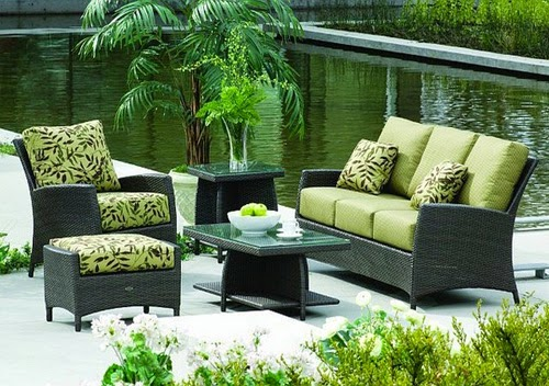 outdoor furniture with blue and yellow color   Vietnam Outdoor Furniture