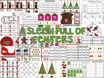 http://www.teacherspayteachers.com/Product/A-Sleigh-Full-of-Centers-Christmas-Math-and-Language-Arts-Activities-411967