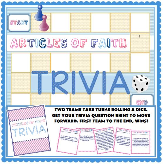 Articles of Faith Trivia Game