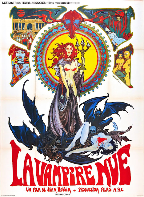 The Nude Vampire (La vampire nue) poster