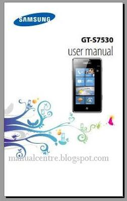 Samsung Omnia M Manual