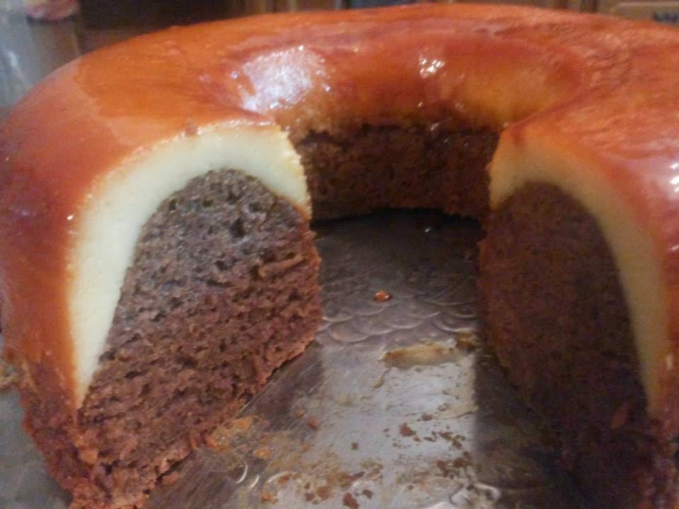 Recette du cake crème caramel