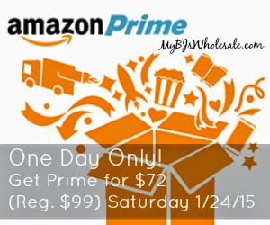 Amazon Prime Only $72