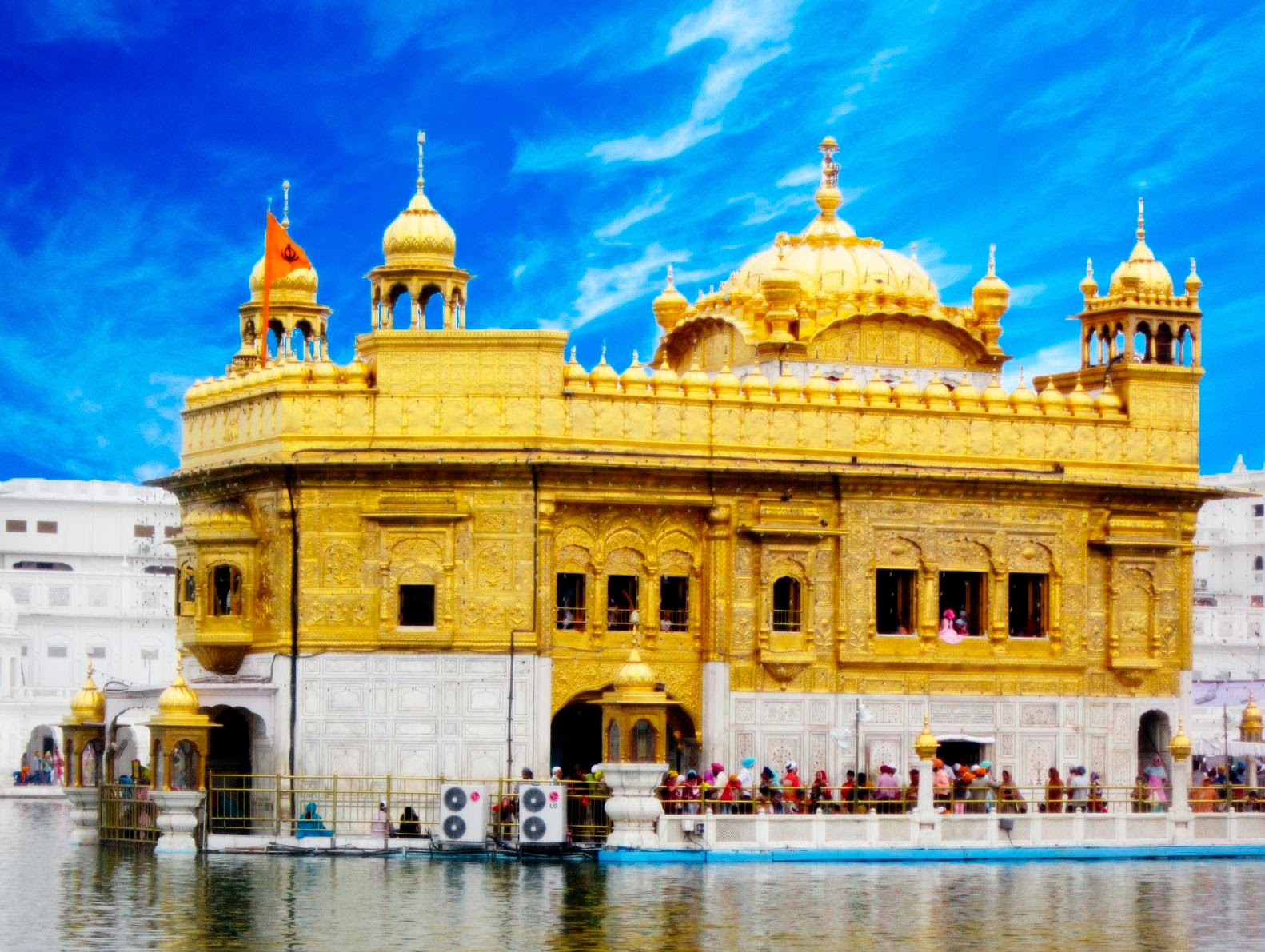 swarn mandir golden temple hd wallpaper | dharmik god wallpapers