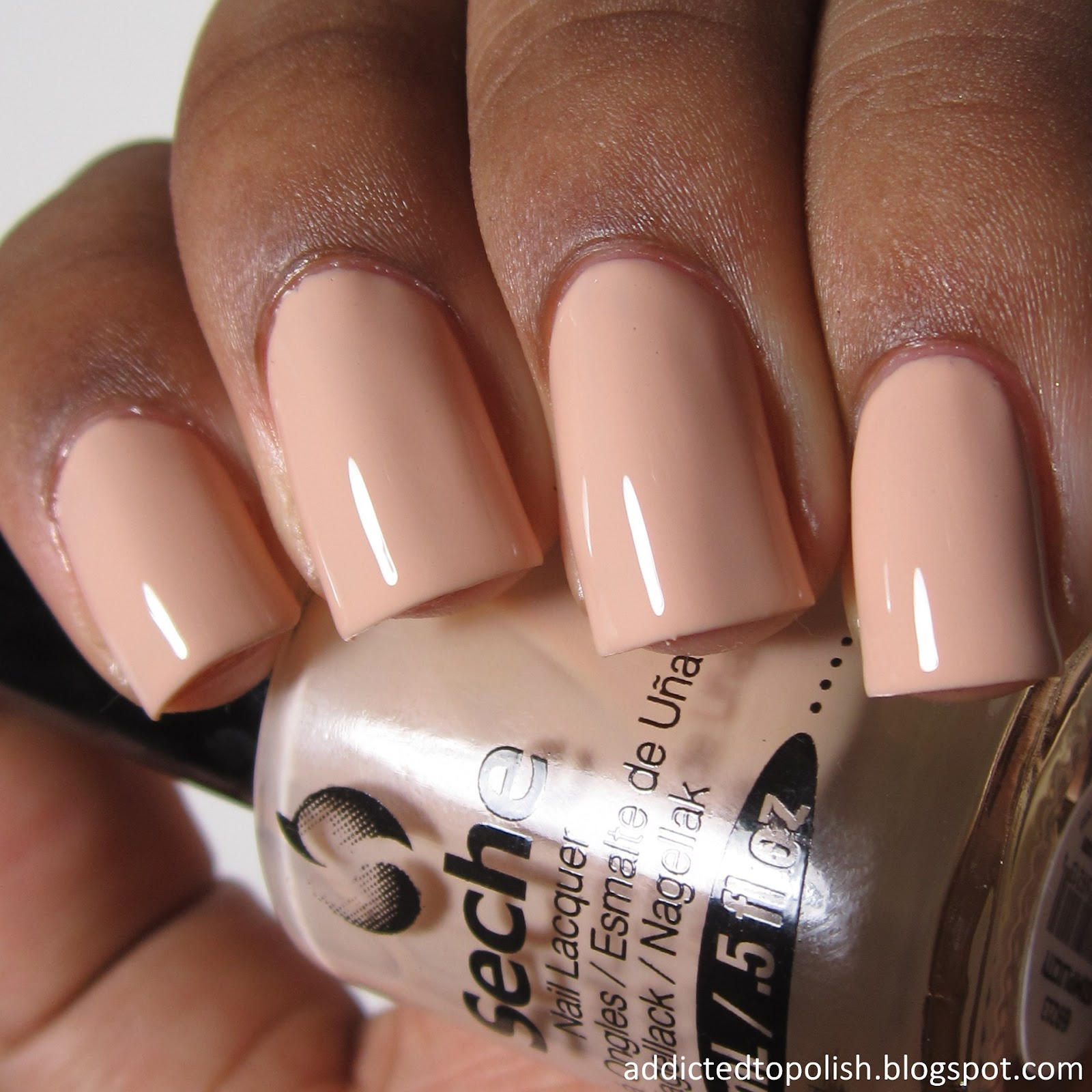 Seche Simplicity Nude Brown Skin Live Love Polish