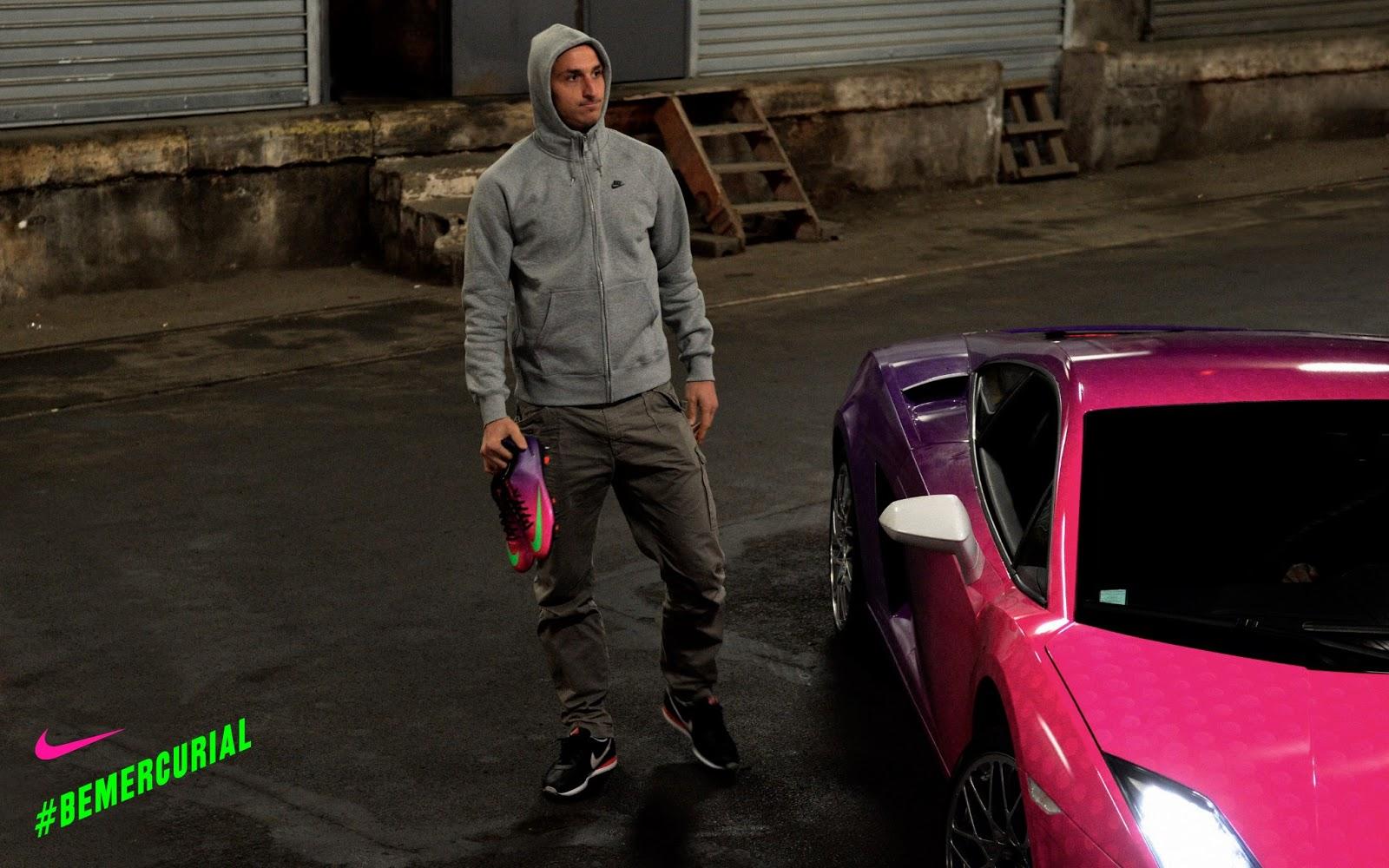 Zlatan Ibrahimovic Lamborghini