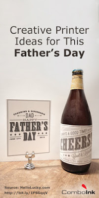 father's day bottle label