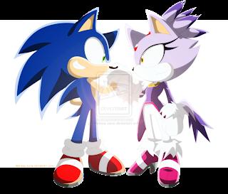 Sonic y Blaze