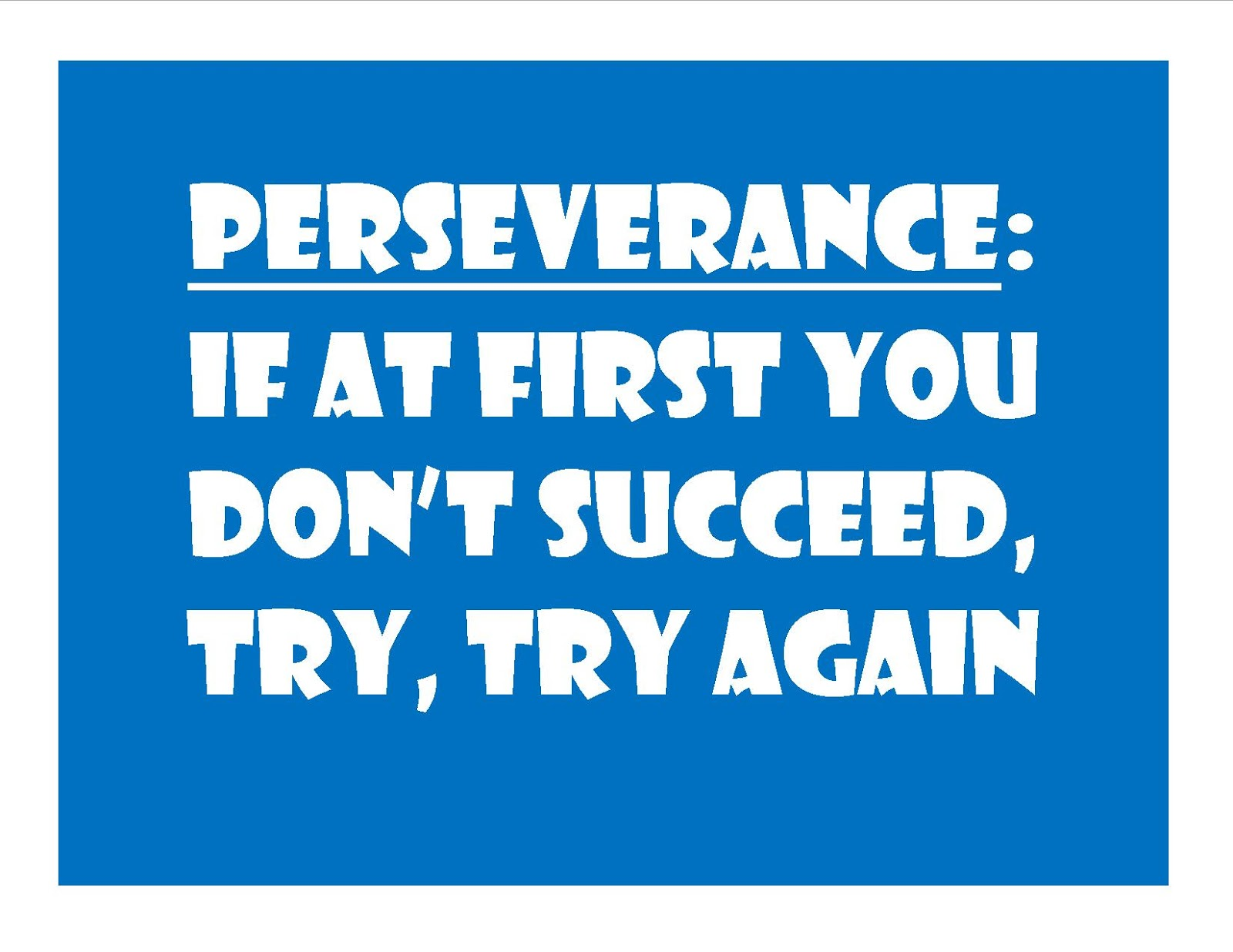 essay perseverance is the mother of success Beowulf perseverance essay when he fought grendel's mother he struggled a little so if one word can describe beowulf's success it would be perseverance.