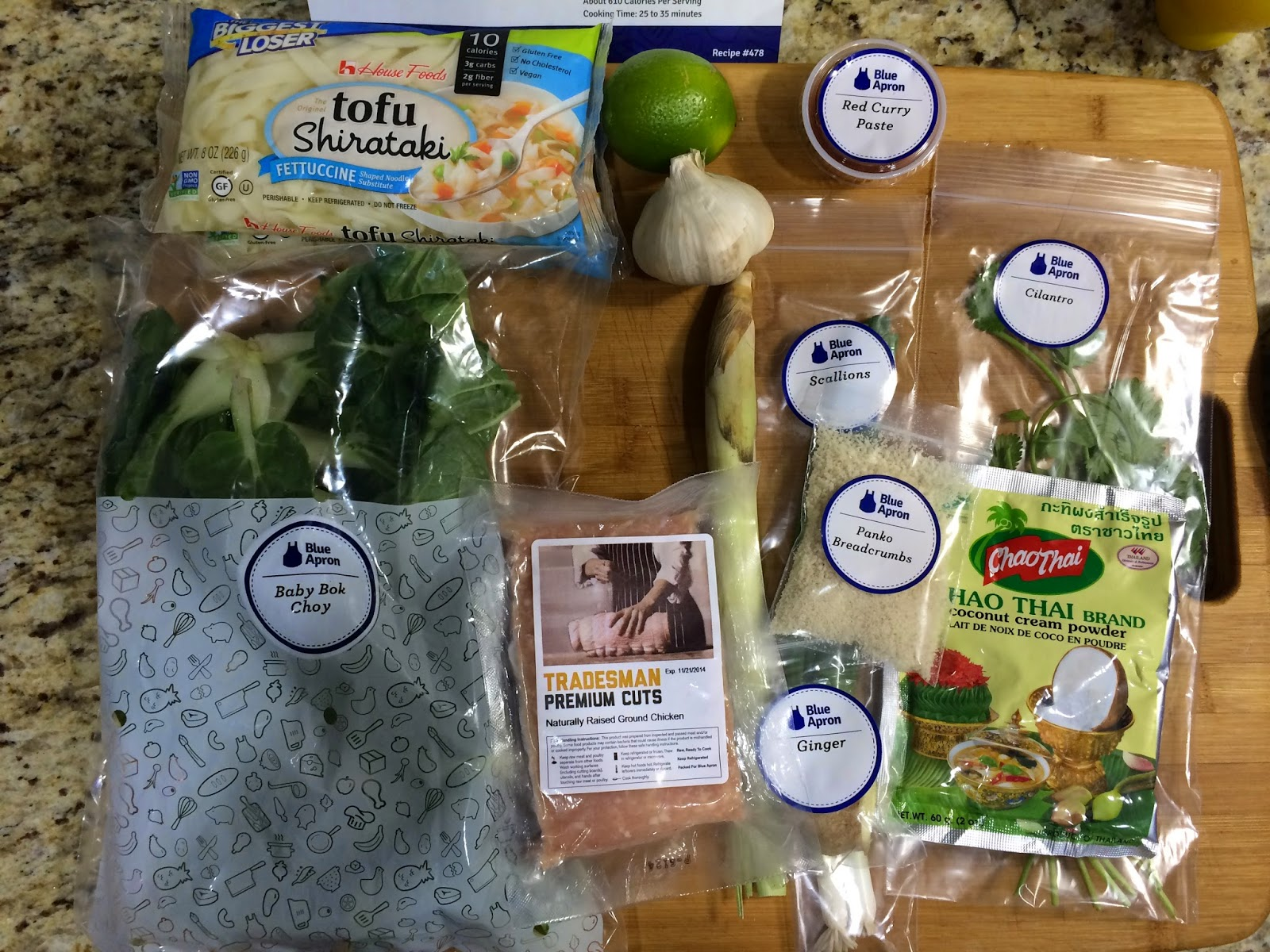 Blue apron chicken meatballs