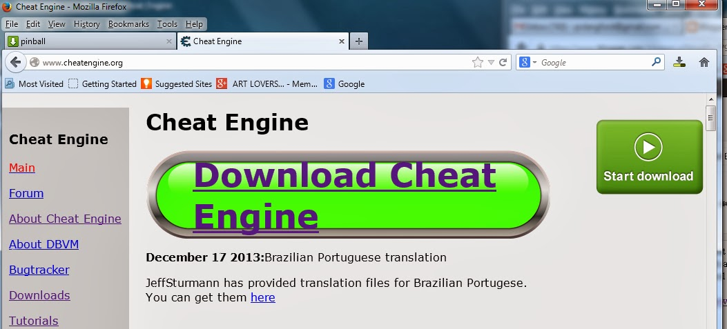 Download Engine Page
