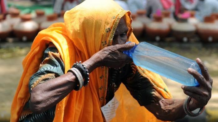Korban Gelombang Panas di India Capai 1.000 orang