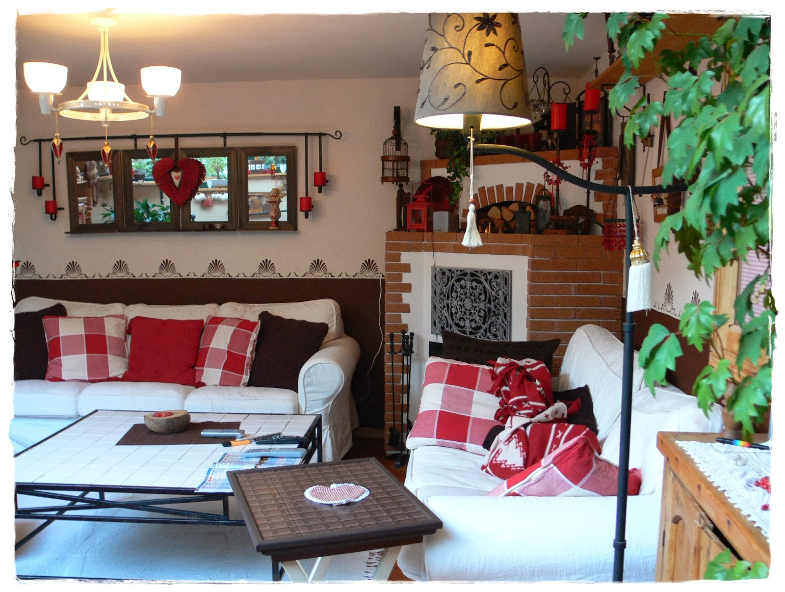 braune wandfarbe zu grauem boden. Black Bedroom Furniture Sets. Home Design Ideas