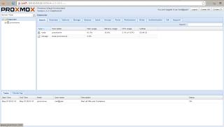 WebGUI Proxmox 2.3