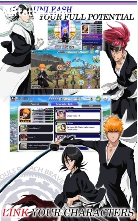 Download Game Android Bleach Brave Soul APK MOD DATA FULL