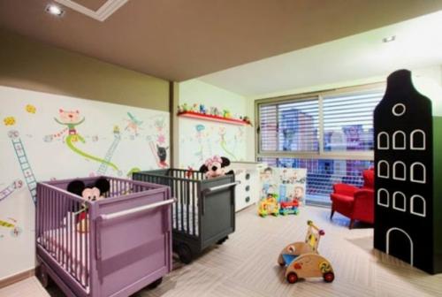 Habitaciones para dos beb s dormitorios con estilo - Habitaciones para gemelos ...