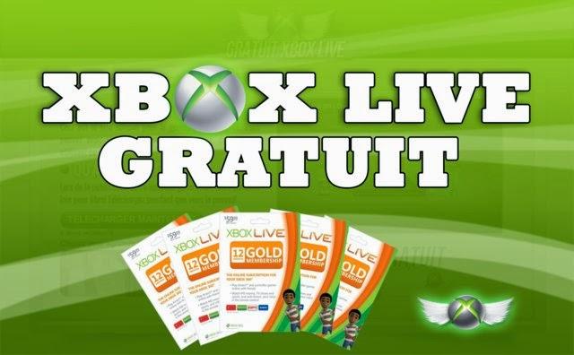 xbox live gratuit