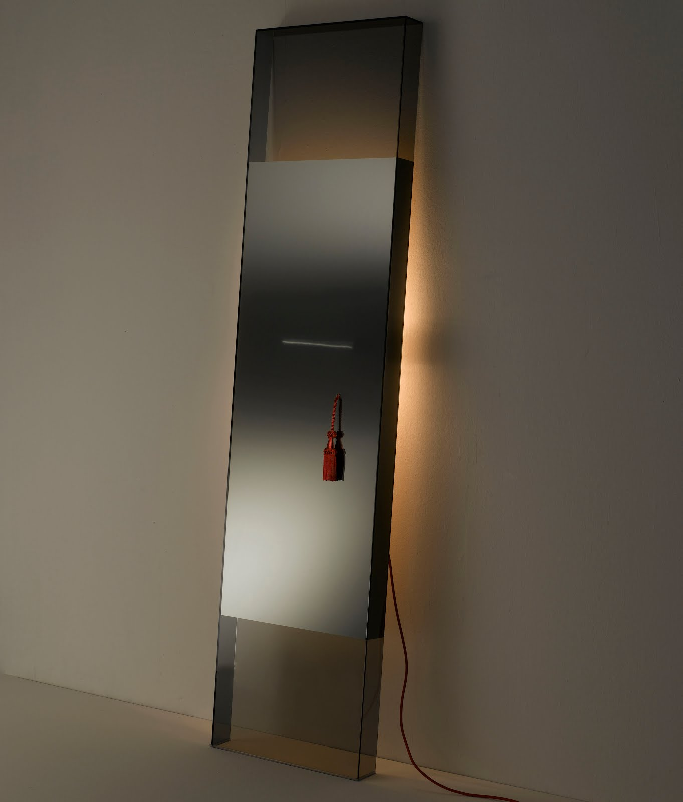 Diva large modern floor standing mirror by jean marie for Floor mirror