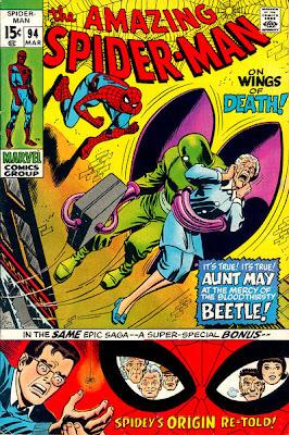 Amazing Spider-Man #94, the Beetle, John Romita