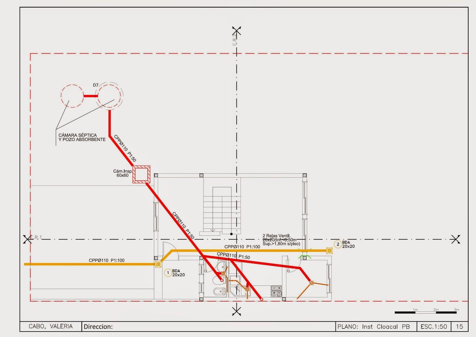 Detalles Constructivos Cad Plano Replanteo Instalaciones