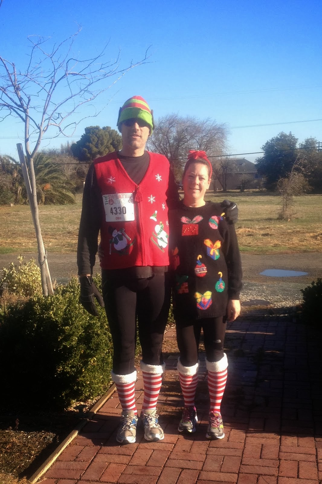 The Sweater Dash 5K 12/7/13