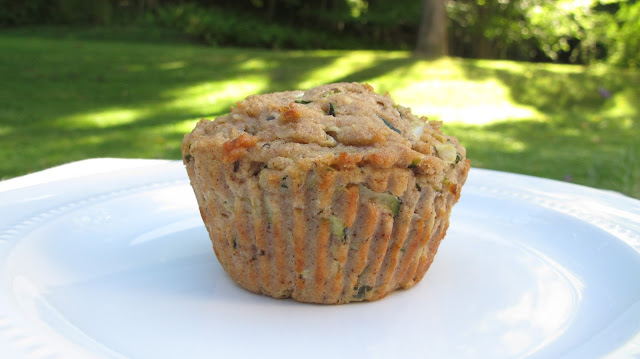 candida diet zucchini muffins