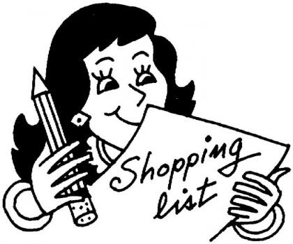 Kết quả hình ảnh cho Plan before you shop