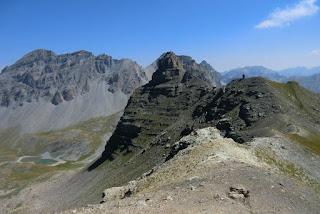 View east from Cime de Pelousette